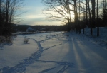 photo for snowshoe trail