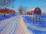 Warm Barn, Cold Winter