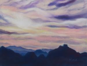 Thimble Peak Sunset