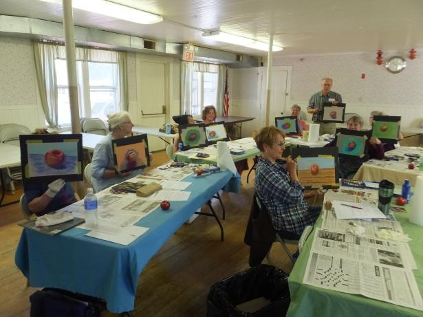June '15 art class #2
